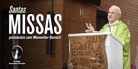 Santa Missa Presencial - Paróquia Imaculada Conceição - Londrina tickets
