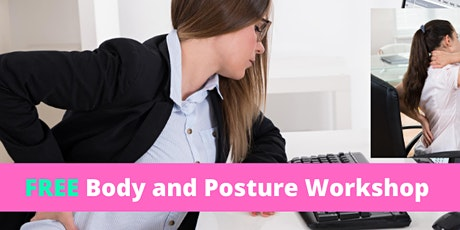 FREE Body and Posture Workshop at Lake Therapy Farnham tickets
