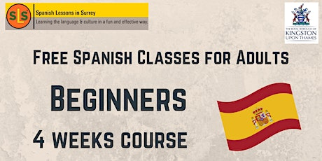 ONLINE SPANISH CLUB FOR ADULTS - Beginners tickets