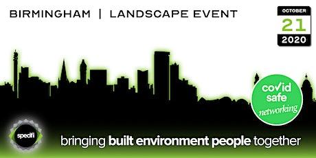 Specifi Birmingham - LANDSCAPE EVENT tickets