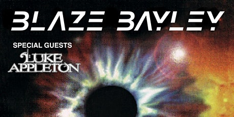 Blaze Bayley - Tenth Dimension Tour 2020 Special Guests : Luke Appleton Tickets