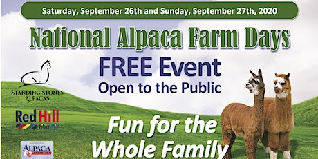 National Alpaca Days Open Farm tickets