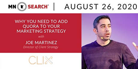 Virtual HH + Adding Quora to Your Marketing Strategy with Joe Martinez tickets