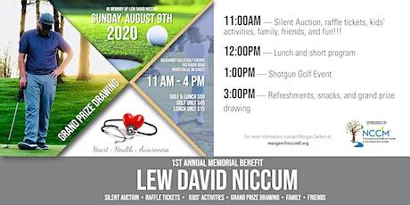 1st Annual Memorial Benefit—Lew David Niccum tickets
