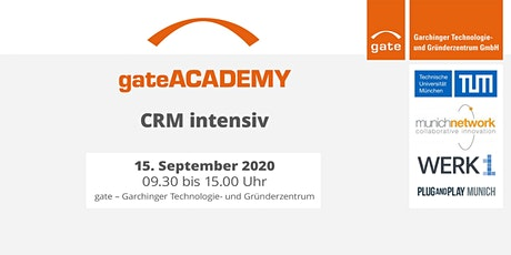 gateACADEMY: CRM intensiv Tickets