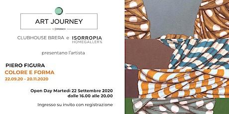 ART JOURNEY | Colore e forma di Piero Figura biglietti