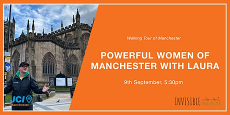 Powerful Women of Manchester Walking Tour tickets