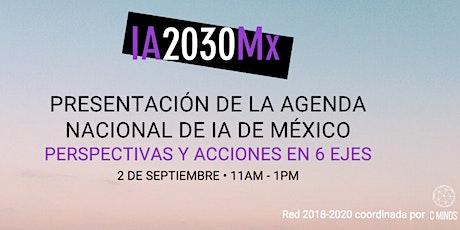 Presentación de la Agenda Nacional de IA de México entradas