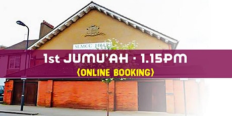 1st Jumu'ah Prayer| 1:15PM | 7th August |English| Hafidh Abdurahman Munawar tickets