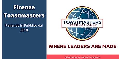Firenze Toastmasters biglietti