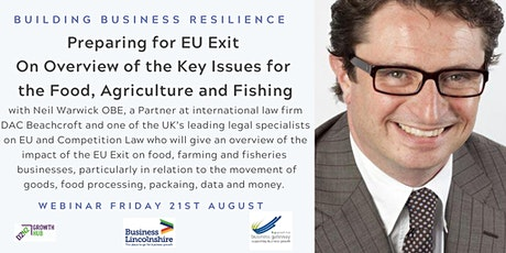 Brexit - Opportunities & Challenges  in Food, Agriculture & Fishing tickets