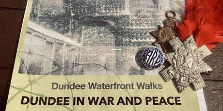 Dundee Waterfront Walks-guided  wartime history  told on Dundee waterfront. tickets