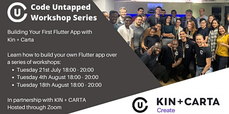 Code Untapped x Kin + Carta Workshop Series tickets