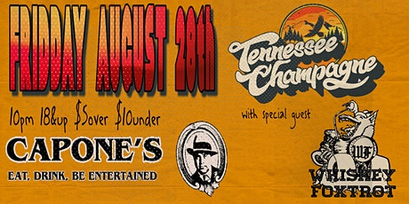 Tennessee Champagne with Whiskey Foxtrot tickets