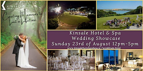 Summer Wedding Showcase 2020 at Kinsale Hotel & Spa tickets