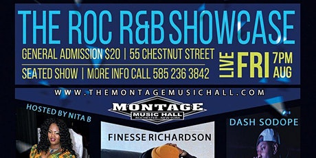 The ROC R&B Showcase tickets