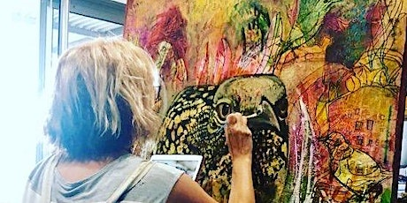 Beautiful Bodacious Birds: the heART of drawing & painting whimsical birds tickets