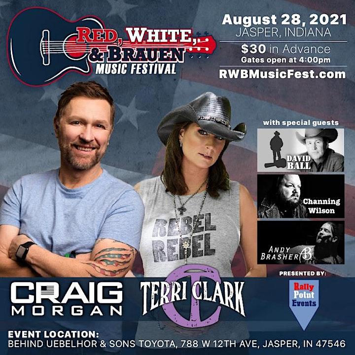 RED, WHITE, & BRAUEN Music Festival image