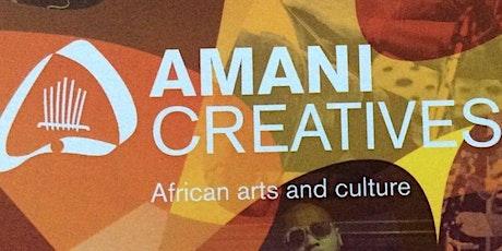 Amani Go Digital - marketing & social media  for artists with Sue Fletcher tickets