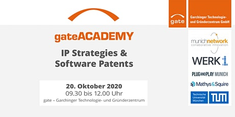 gate-Academy: IP Strategies & Software Patents tickets