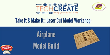Laser Cut Model Workshop: Build an Airplane Model tickets