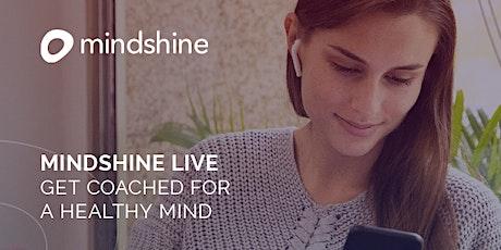 Mindshine LIVE – Monday Morning Motivation Tickets