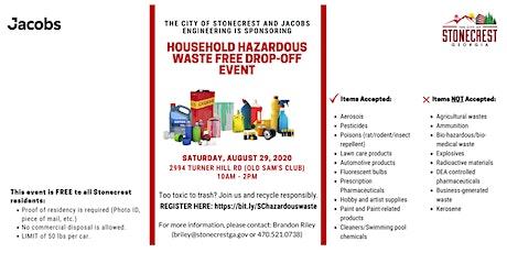 STONECREST HOUSEHOLD HAZARDOUS WASTE FREE DROP-OFF EVENT tickets