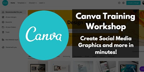 Canva for businesses - How to use Canva for social media graphics and more! tickets