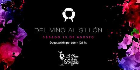 Del Vino al Sillón boletos