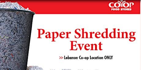 Paper Shredding Event tickets