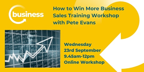 How to Win More Business with our Sales Training Workshop tickets