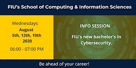 Info session on Bachelor's Degree in Cybersecurity tickets