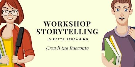 Workshop di Storytelling - Crea il Tuo Primo Racconto biglietti