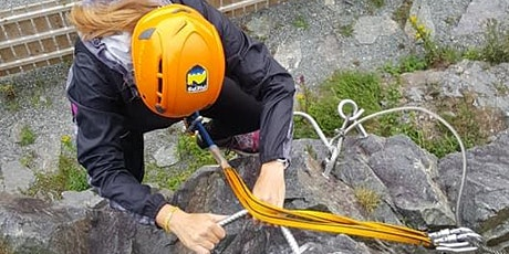 Intro to Rock Climbing, Abseiling, & Via Ferrata tickets