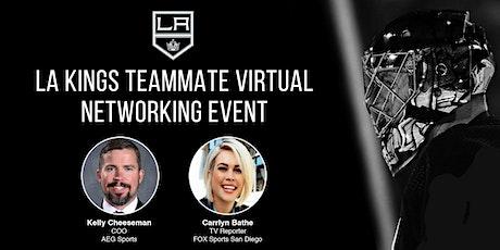 LA Kings Teammate Virtual Networking Event & Career Panel tickets