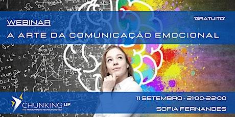 Webinar - A Arte da Comunicação Emocional ingressos