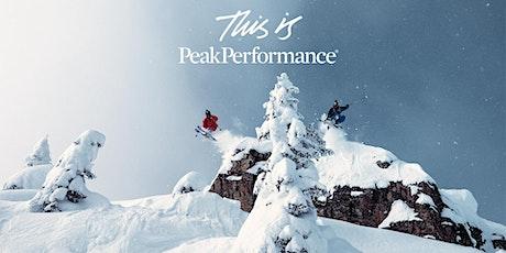 Peak Performance VIP SALE tickets