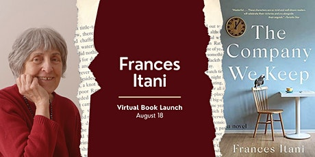 Virtual Book Launch: The Company We Keep with Frances Itani tickets