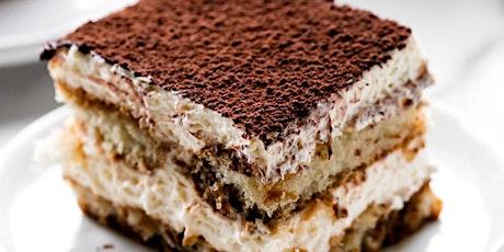 Classic Italian Tiramisu Class by Chef Vira tickets