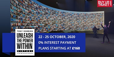 Tony Robbins UPW Virtual 2020 - Book UPW Tickets with Easy Payment Plans