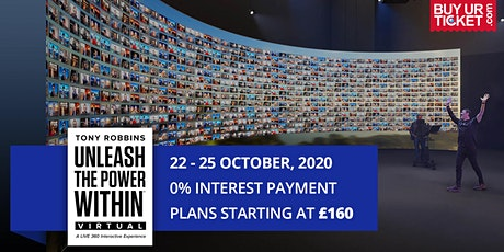Tony Robbins UPW Virtual 2020 - Book UPW Tickets with Easy Payment Plans tickets