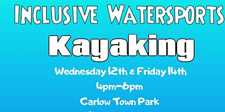 Inclusive Water Sports Kayaking tickets