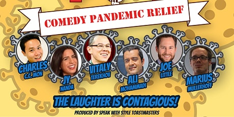 Comedy Pandemic Relief billets