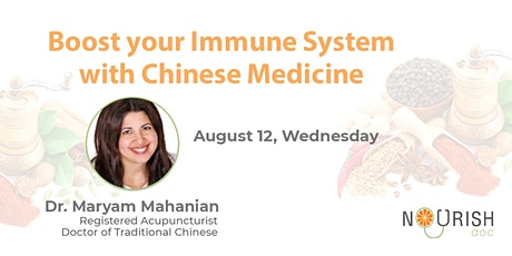 Boost Your Immune System With Chinese Medicine tickets