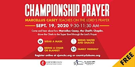Championship Prayer billets