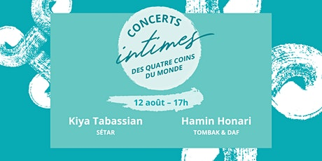 Concert 1 - Kiya Tabassian & Hamin Honari billets