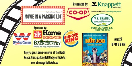 Movie in a Parking Lot - Aug. 22 - Nut Job tickets