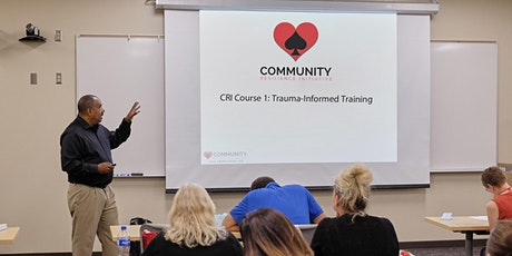 CRI Course 1 Trauma-Informed Training for Trainers Webinar - 4 part Course tickets