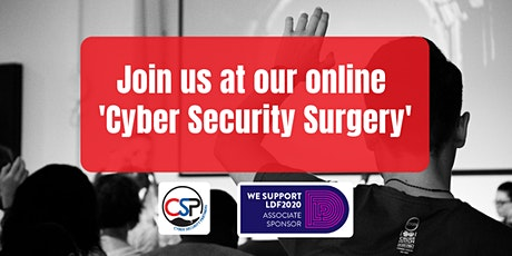 Cyber Security Surgery tickets