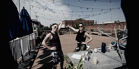 Sunrise Rooftop Yoga at Manning's On Main tickets